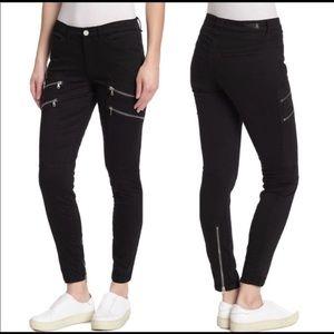 NWT Blank NYC Moto Skinny Cargo Jeans Size 24.